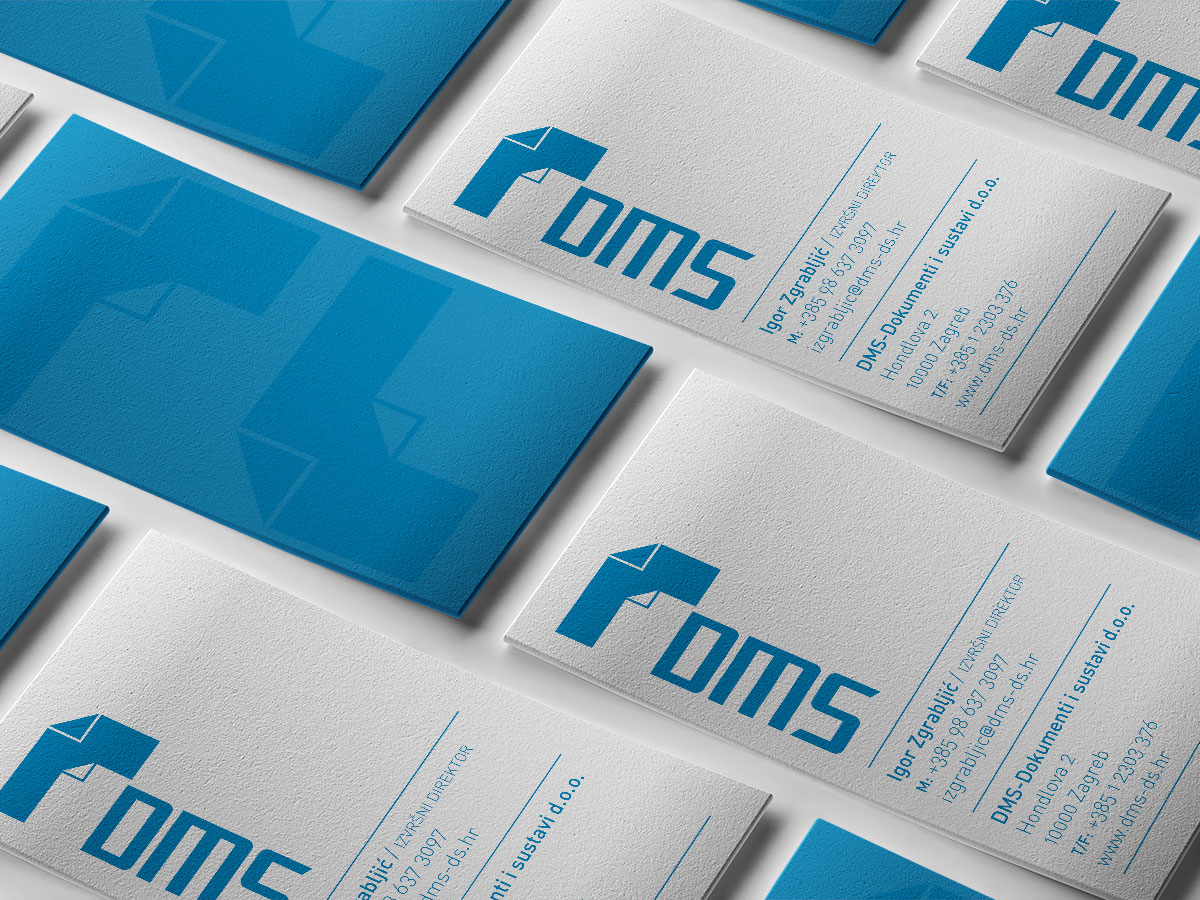 DMS business card