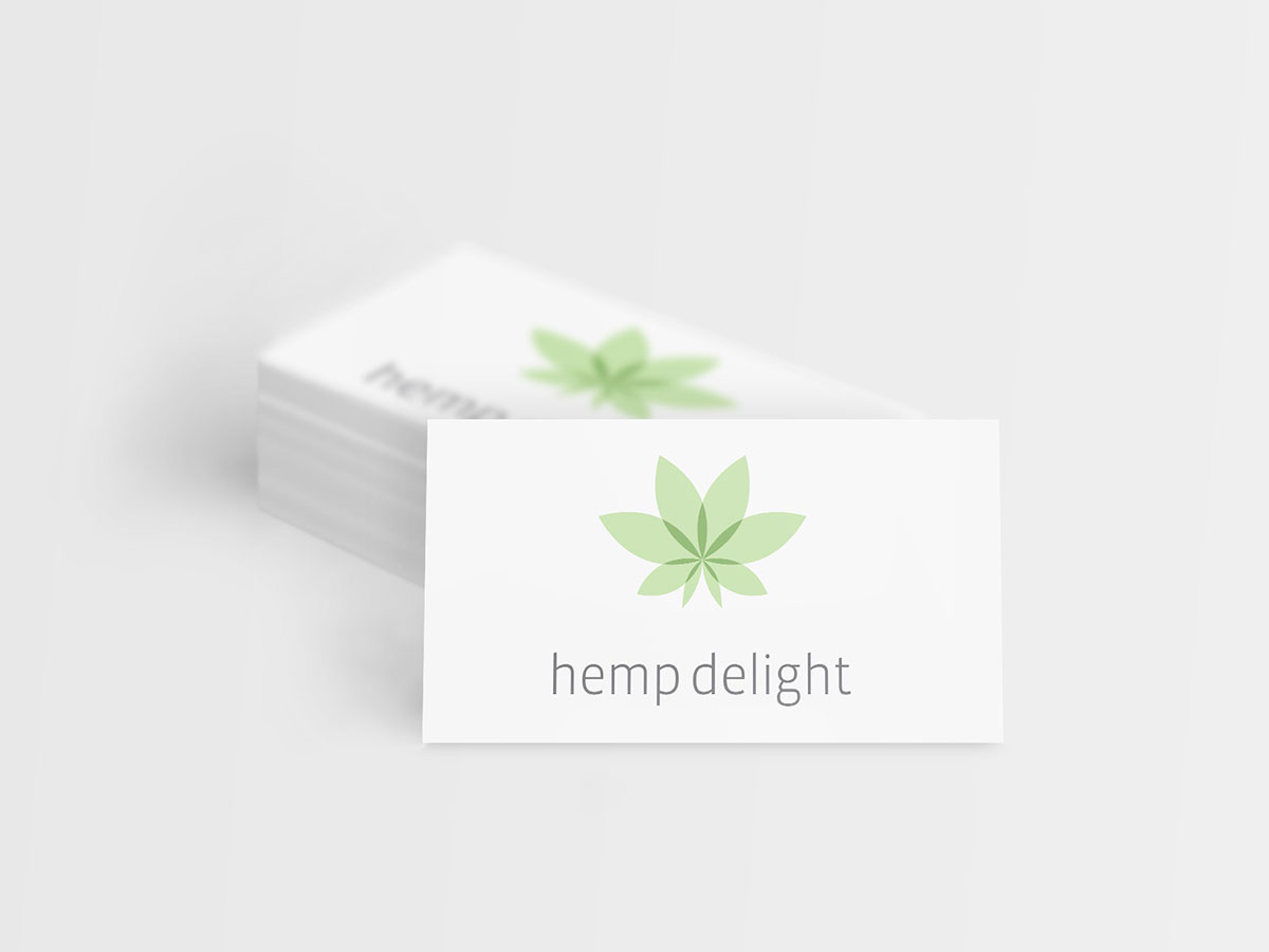 Hemp delight business card