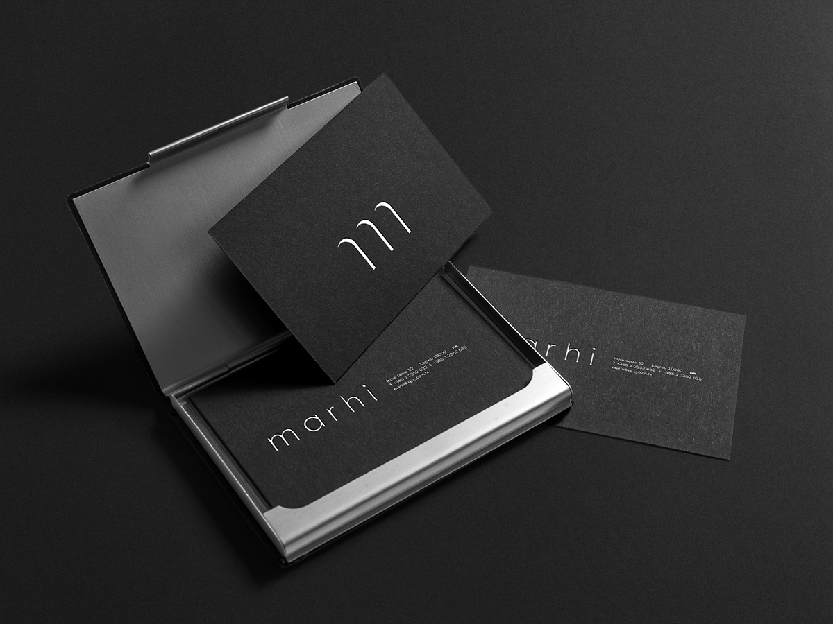 Marhi - business card
